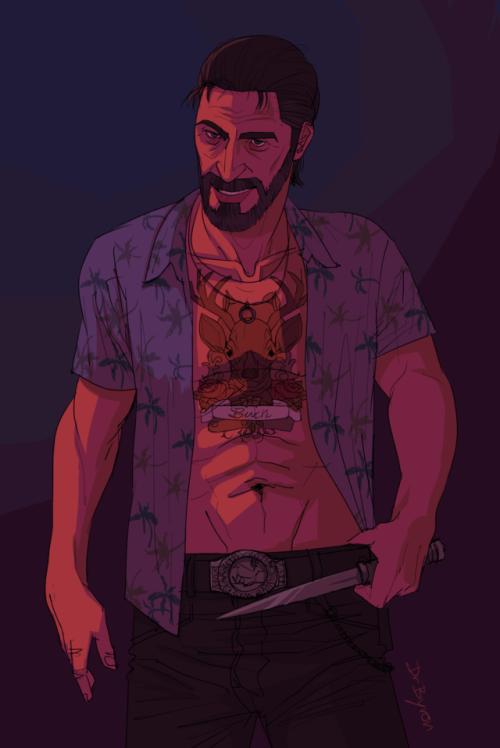 Buck Hughes Far Cry 3 By Drbyron Art Far Cry 3 Crying Man