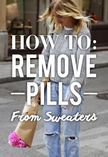 How To Get Pills Off Sweater : pills, sweater, Unpill, Sweater, Pills, Clothes, Clothing, Care,, Seasonal, Fashion,, Pilling