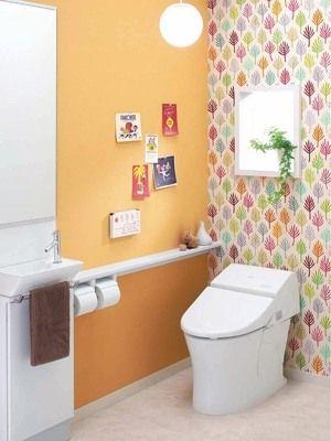 トイレも素敵に トイレのインテリア事例集 インテリアコーディネート All About トイレ おしゃれ トイレ インテリア トイレ 壁紙 おしゃれ