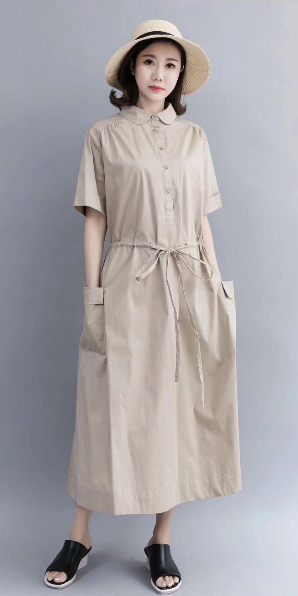 65b33b611e5 Casual Cotton Maxi Dresses For Women 712 in 2018