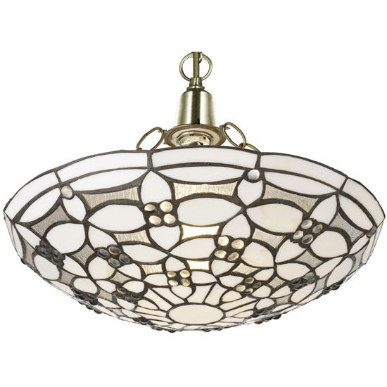 Fleur de lis tiffany style lamp shade ceiling light ceiling lights uk chandelier lights mozeypictures Images