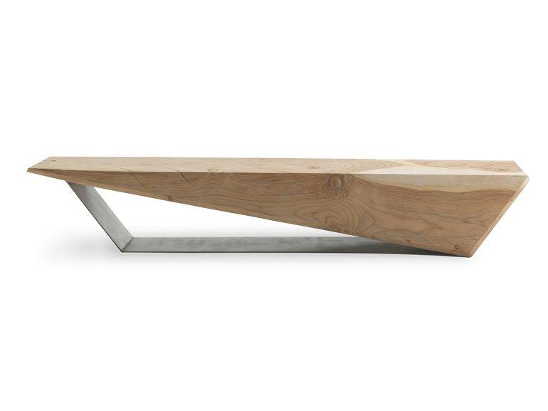 Compre Online Wedge By Riva 1920 Banco De Cedro Design Boyan Grigorov Mobilier De Salon Meubles En Beton Table Metal Bois