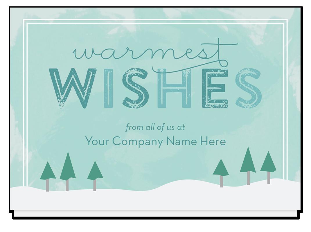 Wintergreen Christmas Card, A8RJS - Business Christmas Cards | Stuff ...