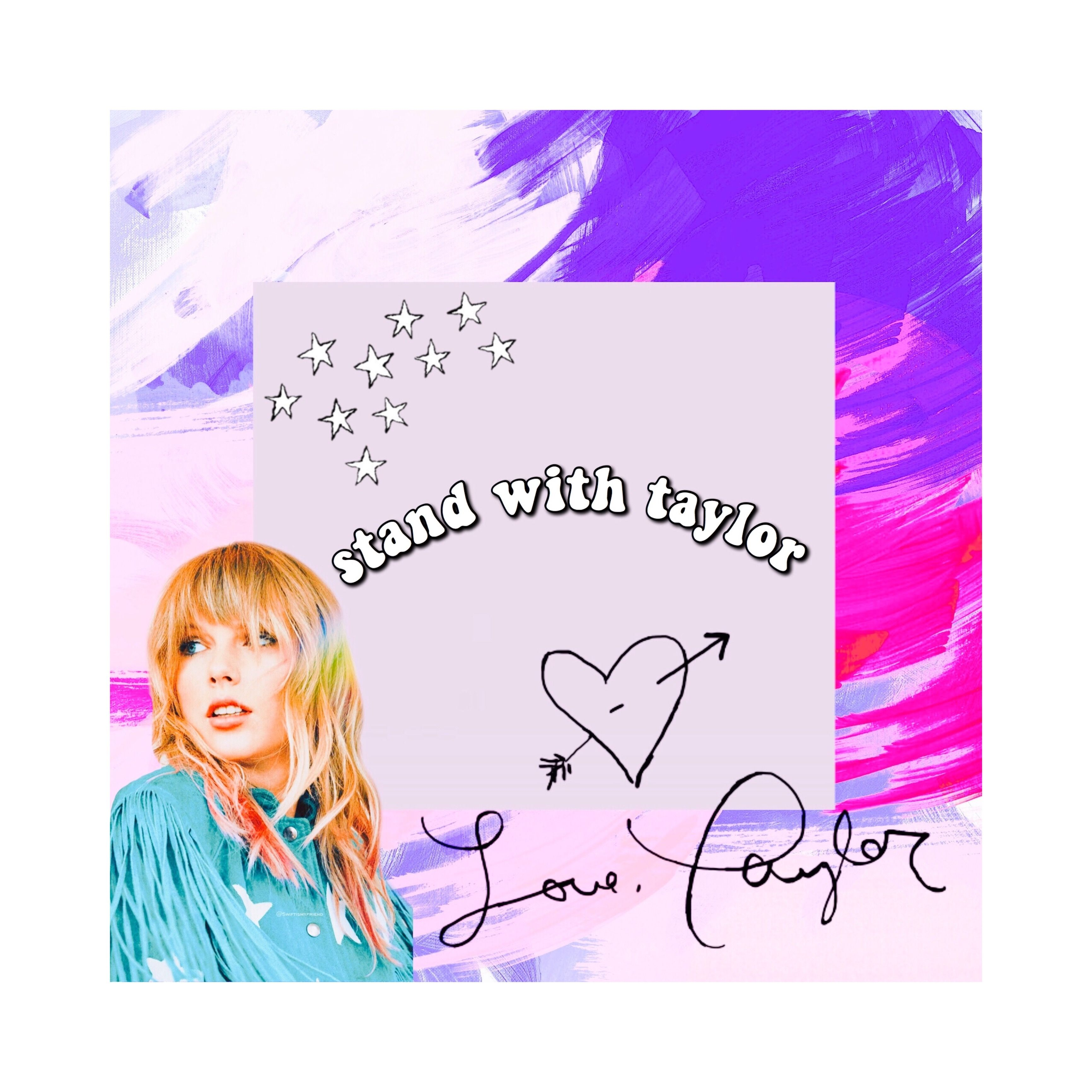Stand With Tay ♡ image by 𝓂𝒶𝒹𝒹𝒾ℯ Taylor alison swift