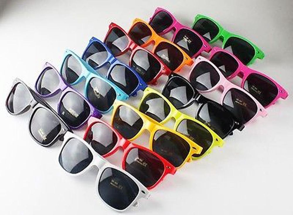 Unisex Sunglasses Retro Vintage Style Shades Glasses Fashion Colourful