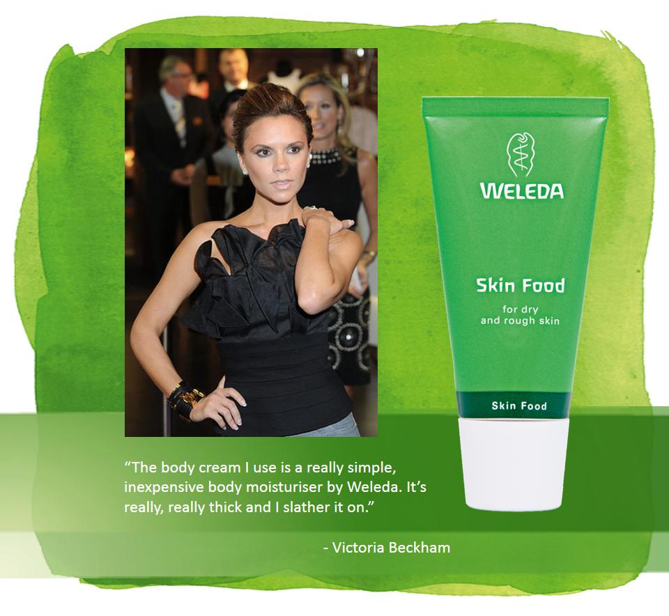 weleda skin food uses