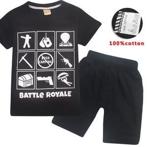 This is a great pajama set for your child who loves Fortnite. This short  sleeve c35ff9e362f34