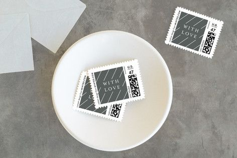 Classic holiday Holiday Stamps by Seven Swans at minted.com