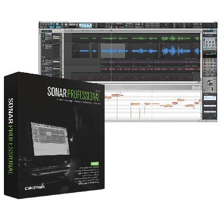 Cakewalk SONAR Professional Music Production Is An Ideal Studio Software Solution For Producers