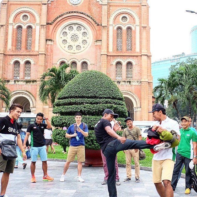 Muay thai all day anywhere ซอมมวยทกท muaythai worldwide