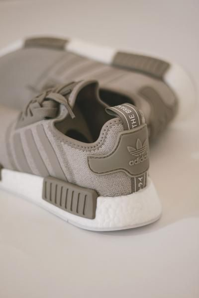 287b283c6 So cute. Must have ultra-comfy shoes! Adidas NMD R1 Vapour gray beige shoes