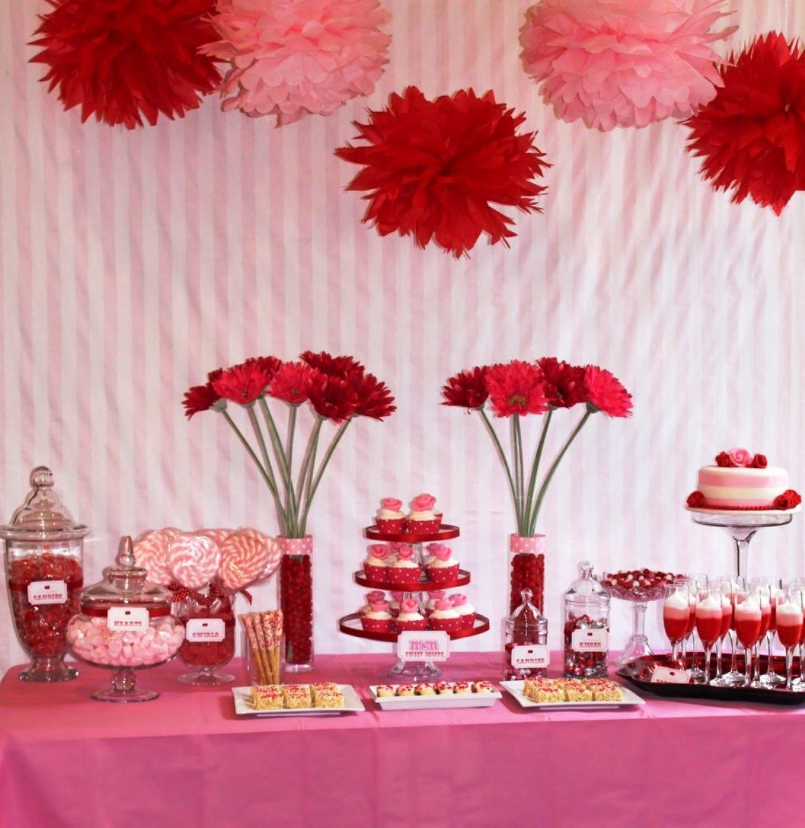 Valentine S Party For Singles Table Decorating Ideas Hy Decor