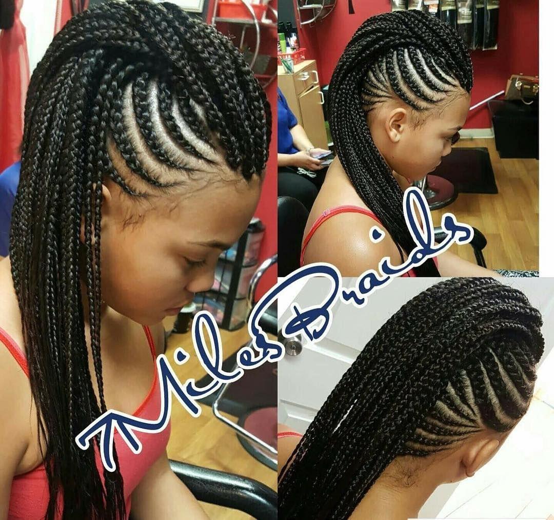 Located In Las Vegas Text Nay 702 445 3237 For Inquiries Or An Apt Lasvegasbraider Lasvegasha Braided Mohawk Hairstyles Hair Styles Twist Braid Hairstyles