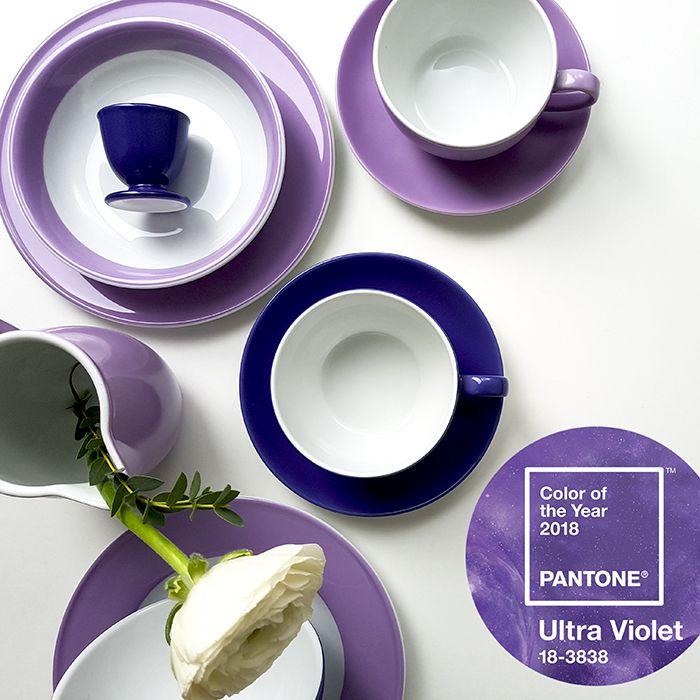 Wandfarbe Violett Lila Kolorat Eine Auswahl In Lila: 2018 Wird Lila. Genauer Gesagt #UltraViolet So Lautet
