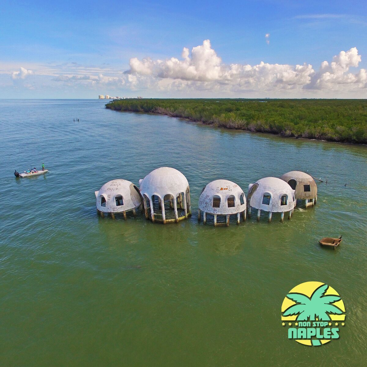 Dome Home Florida: The Cape Romano Dome House Is An Abandoned House Located