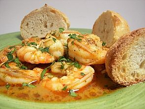 Culinary in the Desert: Becker Barbecued Shrimp