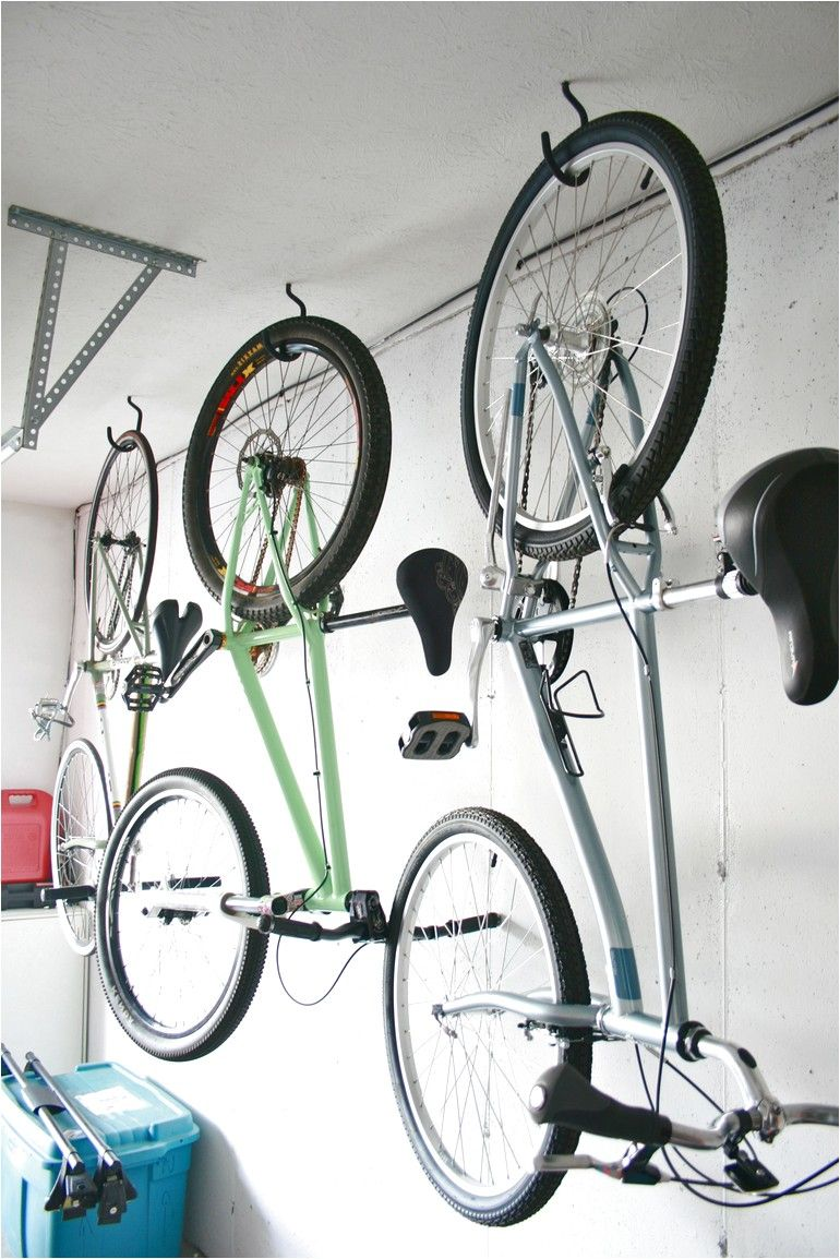 Bicycle Hooks For Garage Ceiling Hanging Bike Rack Wall Mount Bike Rack Bike Hooks