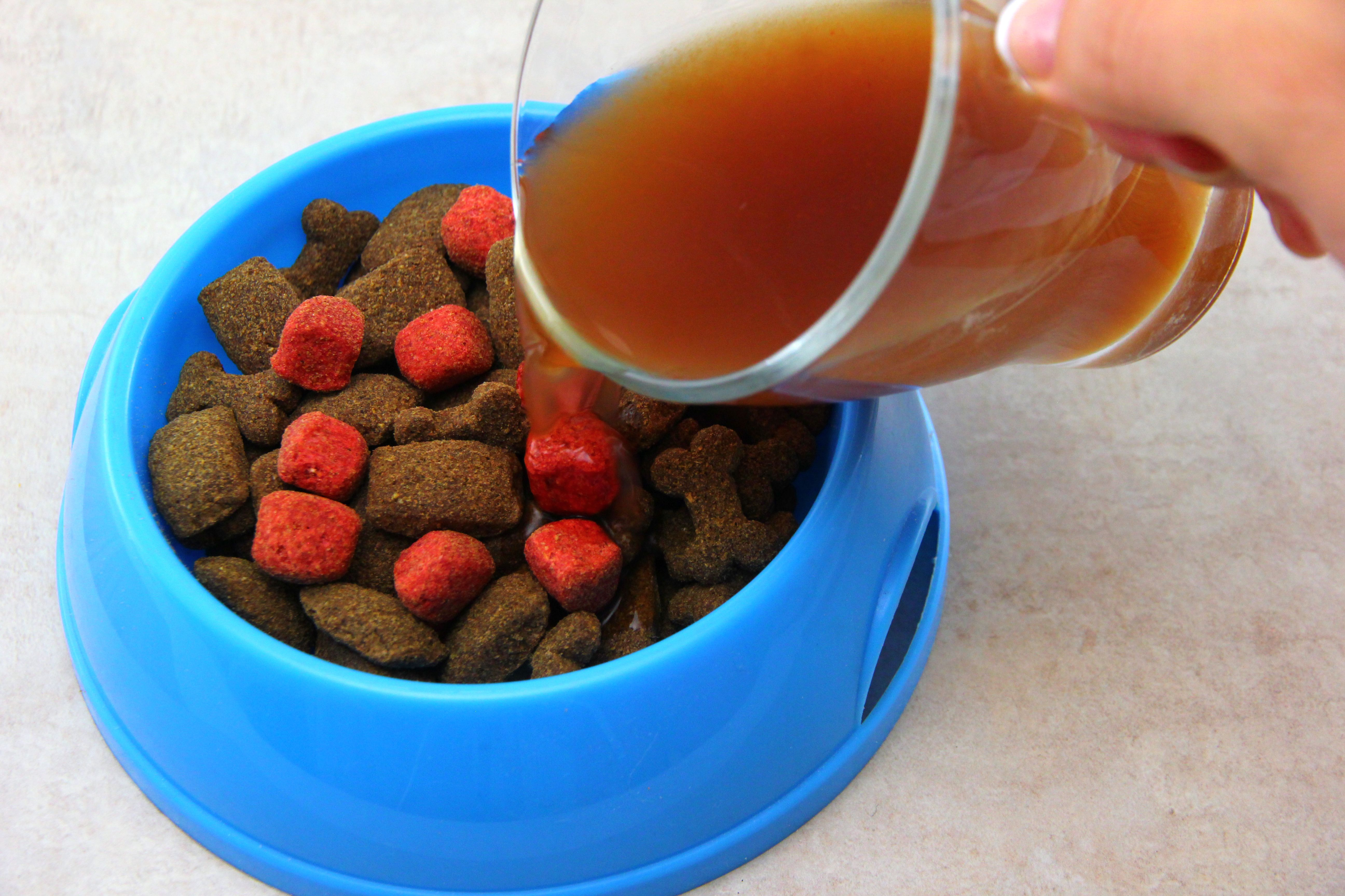 How to make your own dog gravy for dog food cuteness