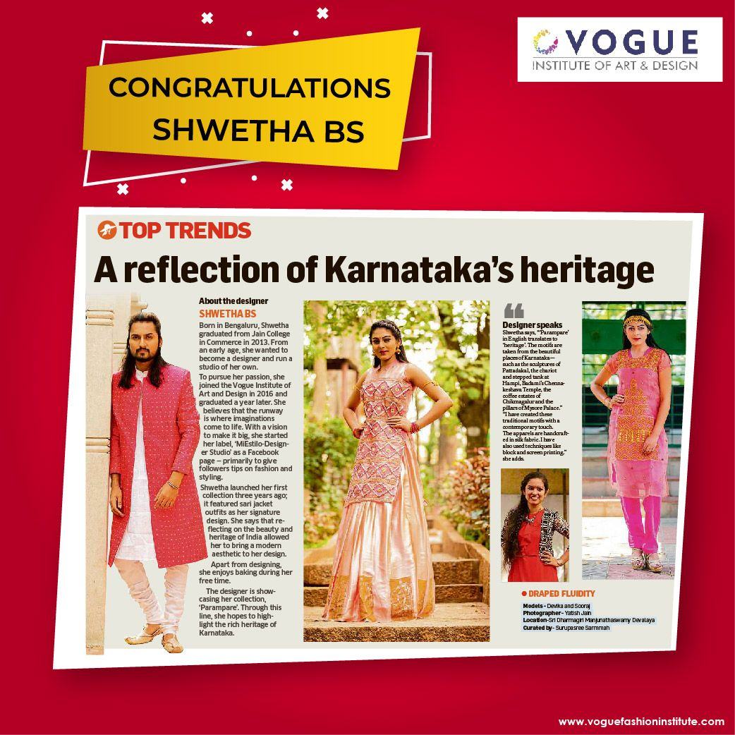 Viad Vogueinstitute Congratulations Deccanherald In 2020 Top Trends Cool Style Design