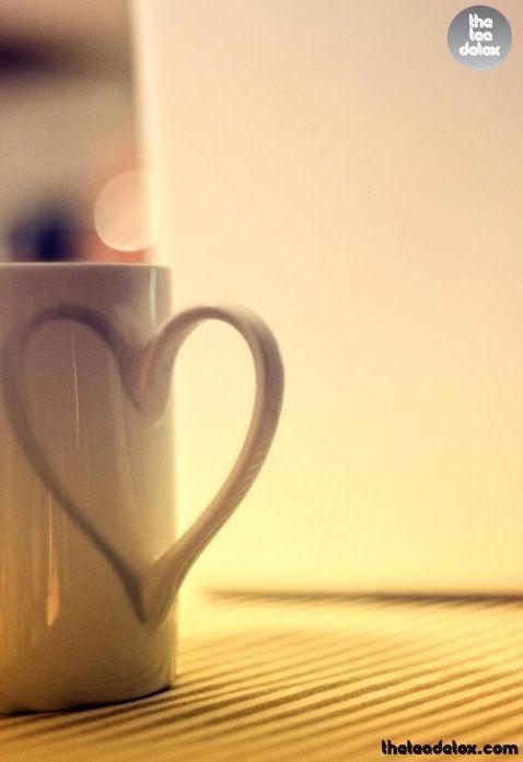 I love tea, and tea loves me