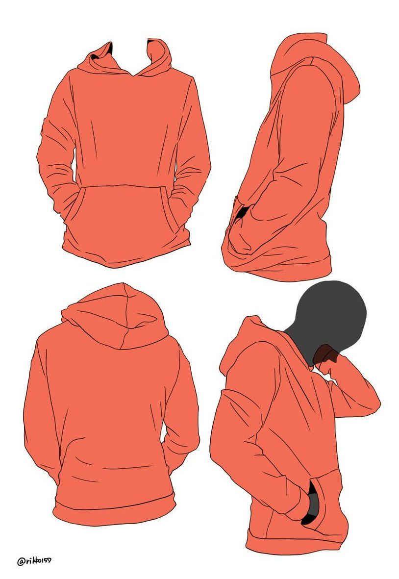 How To Draw Hoodies From Hoods To Zippers Someone Wearing A Hoodie Drawing The Chances You Will Hav In 2020 Hoodie Reference Drawing Clothes How To Draw Hoodies