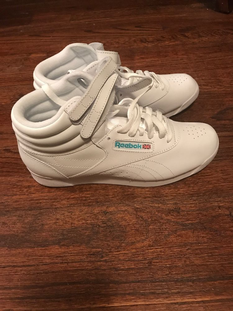 New ORIGINAL 80's Vintage Reebok Classic Freestyle High Top