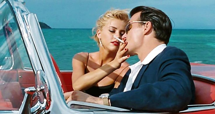 The Rum Diary 2011 Chenault Is Played By Amber Heard And Paul Kemp Is Played By Johnny Depp Chenault You Want A Little Bet Paul Leo Women Photo Couples