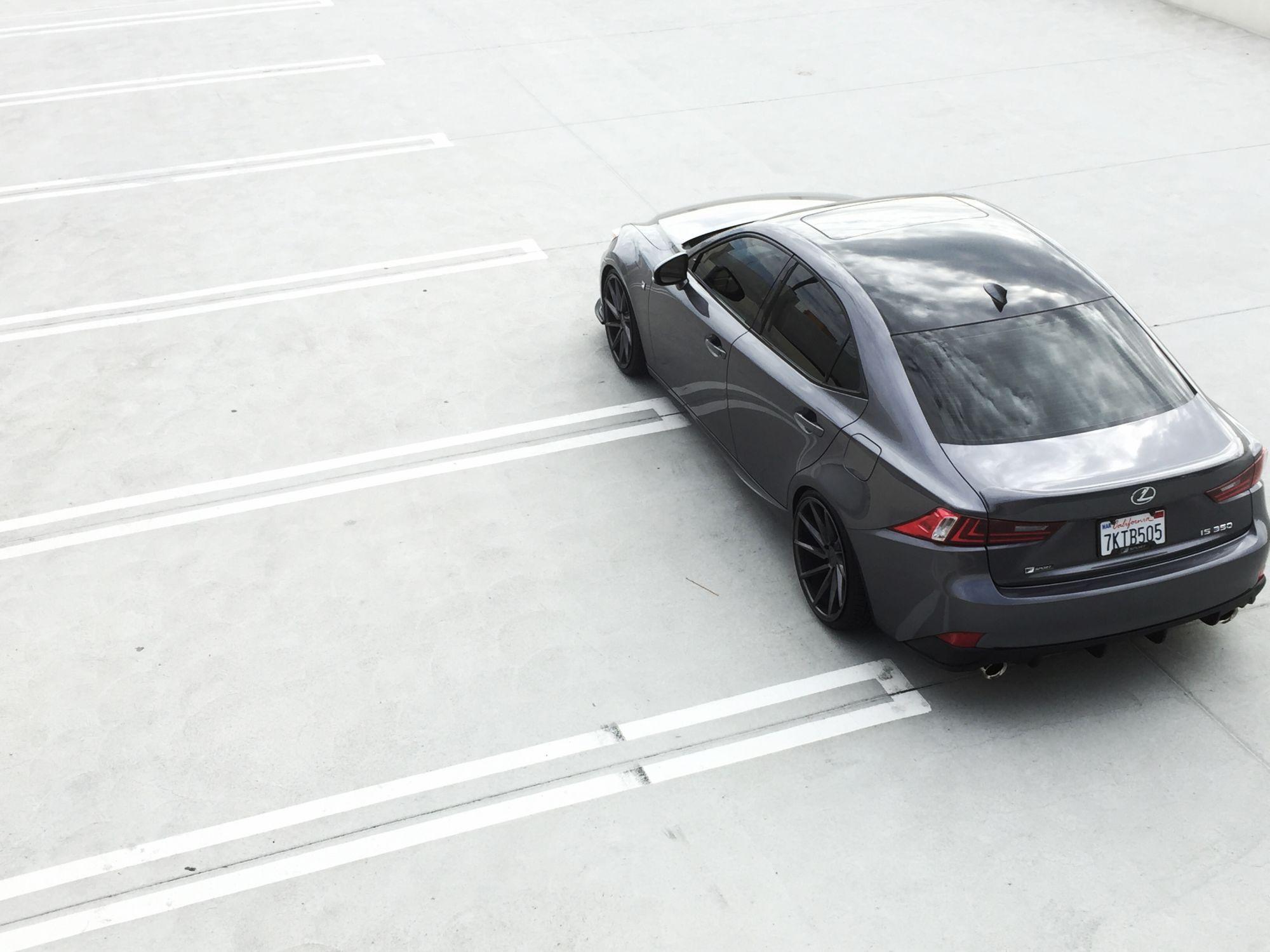 3ISNoName Build - 2015 IS350 F-Sport (Nebula Gray) - Page 2 - Club Lexus Forums