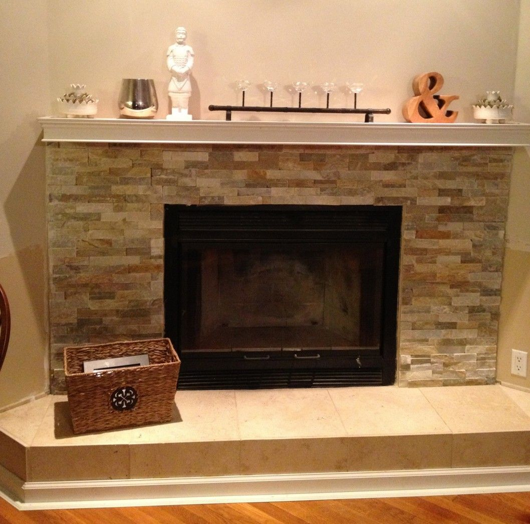 inspiration gas fireplace with stone surround. Architecture  Fireplace Inspiration Granite Surrounds Faux Stone Panels Stacked Wall
