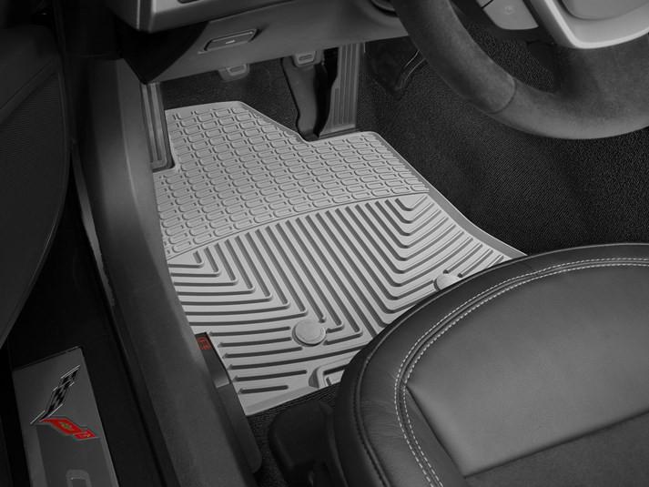 C7 Corvette Weathertech Floor Mats Front Weather Fronts Floor