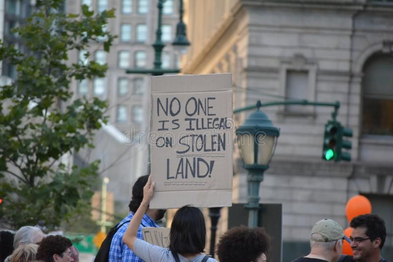 Lights 4 Liberty Protest In New York City Stock Images Aff Protest Liberty Lights York Images Ad New York City City People Protest