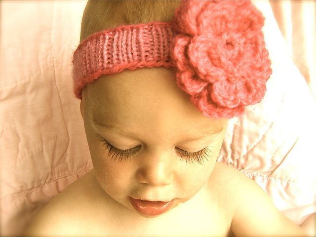 Ravelry Spring Baby Headband Pattern By Amy Andersen Craft