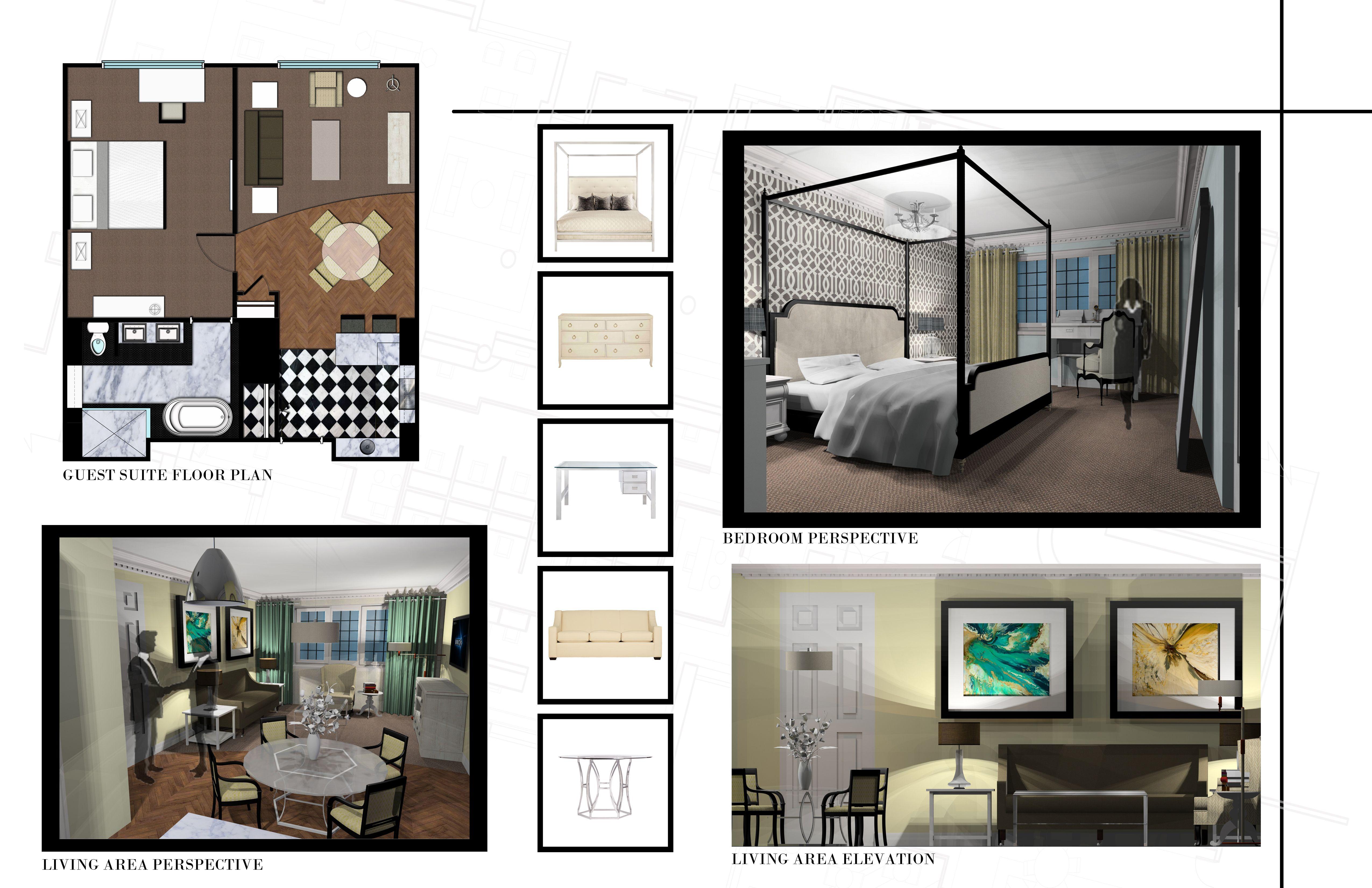 interior design portfolio examples - Google Search ...