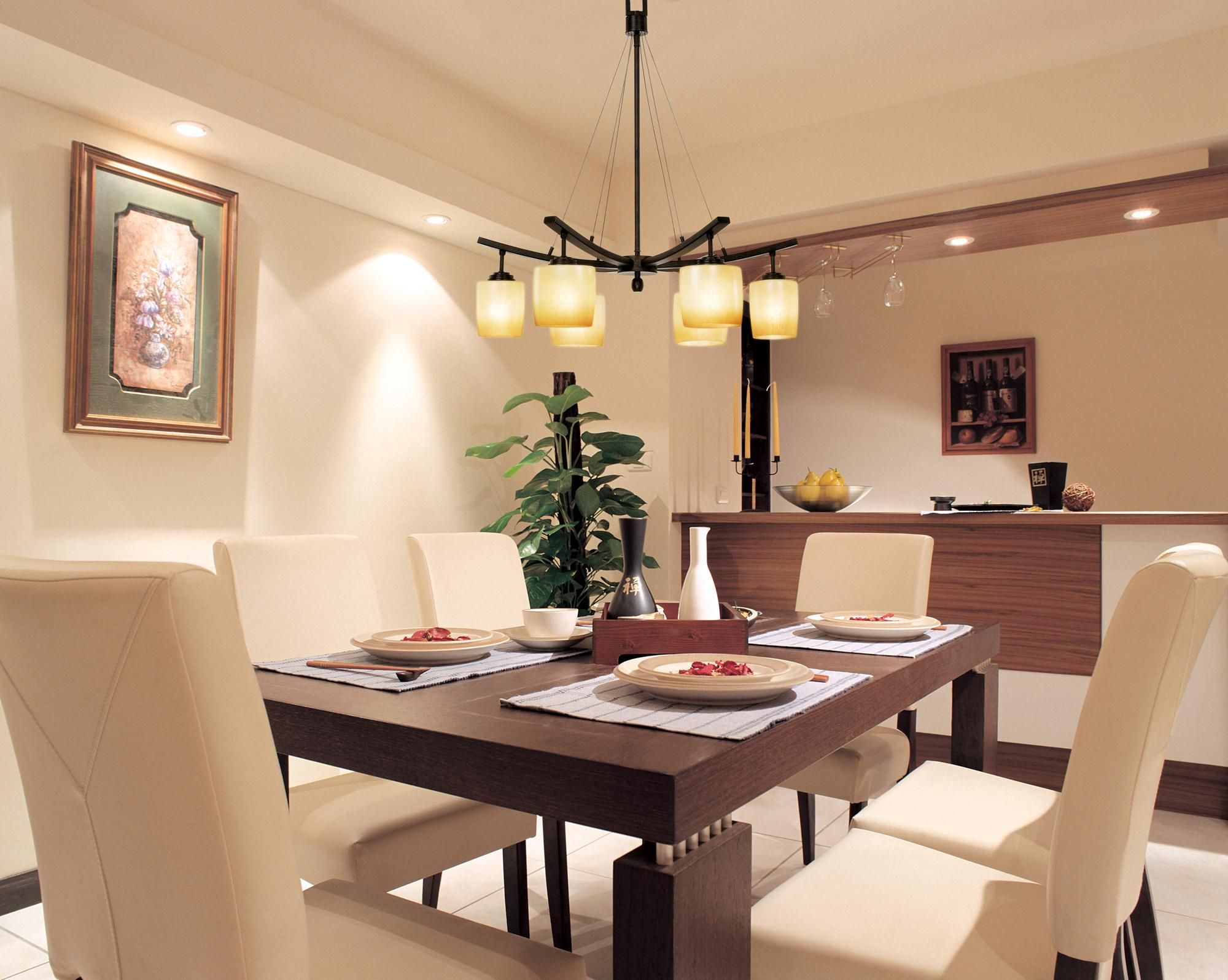 Beautiful Kitchen And Dining Room Lighting Ideas Dining Room