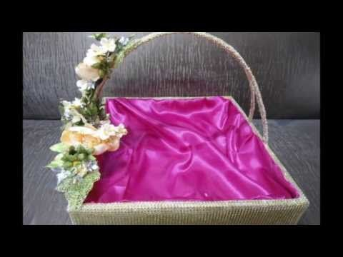 we are designer of these decorative basket for all purpose in wedding and festivals like gifting - Decorative Baskets