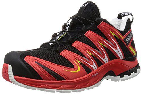 Salomon Herren XA Pro 3D Traillaufschuhe, Rot (Black/Radiant Red/Corona  Yellow