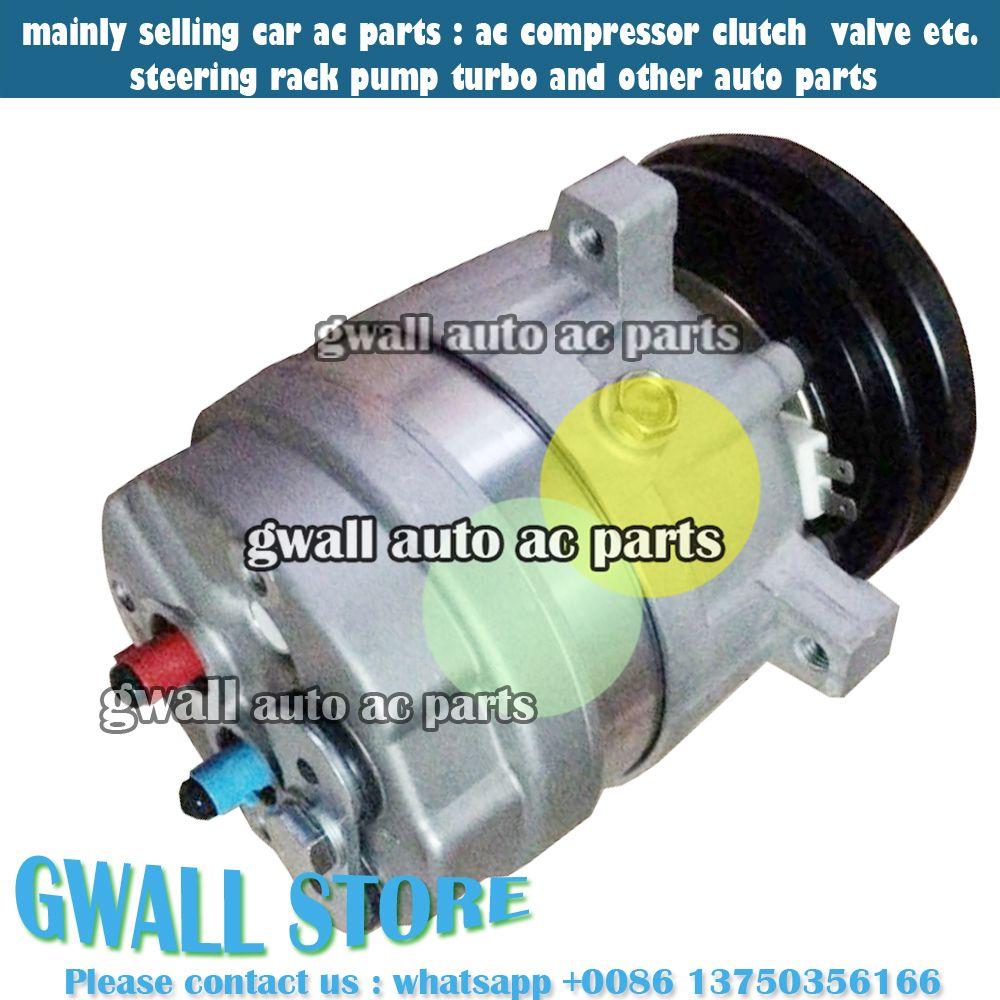 FOR CAR DAEWOO AC COMPRESSOR WITH CLUTCH 1GROOVE 12V AIR