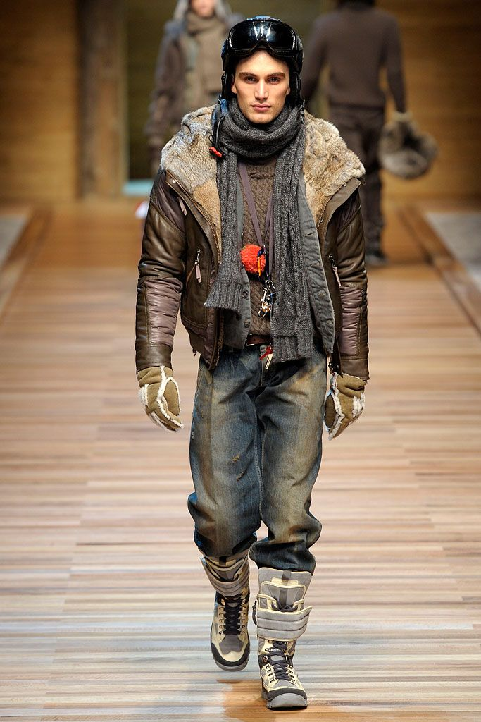 D&G Fall 2010 Menswear Collection