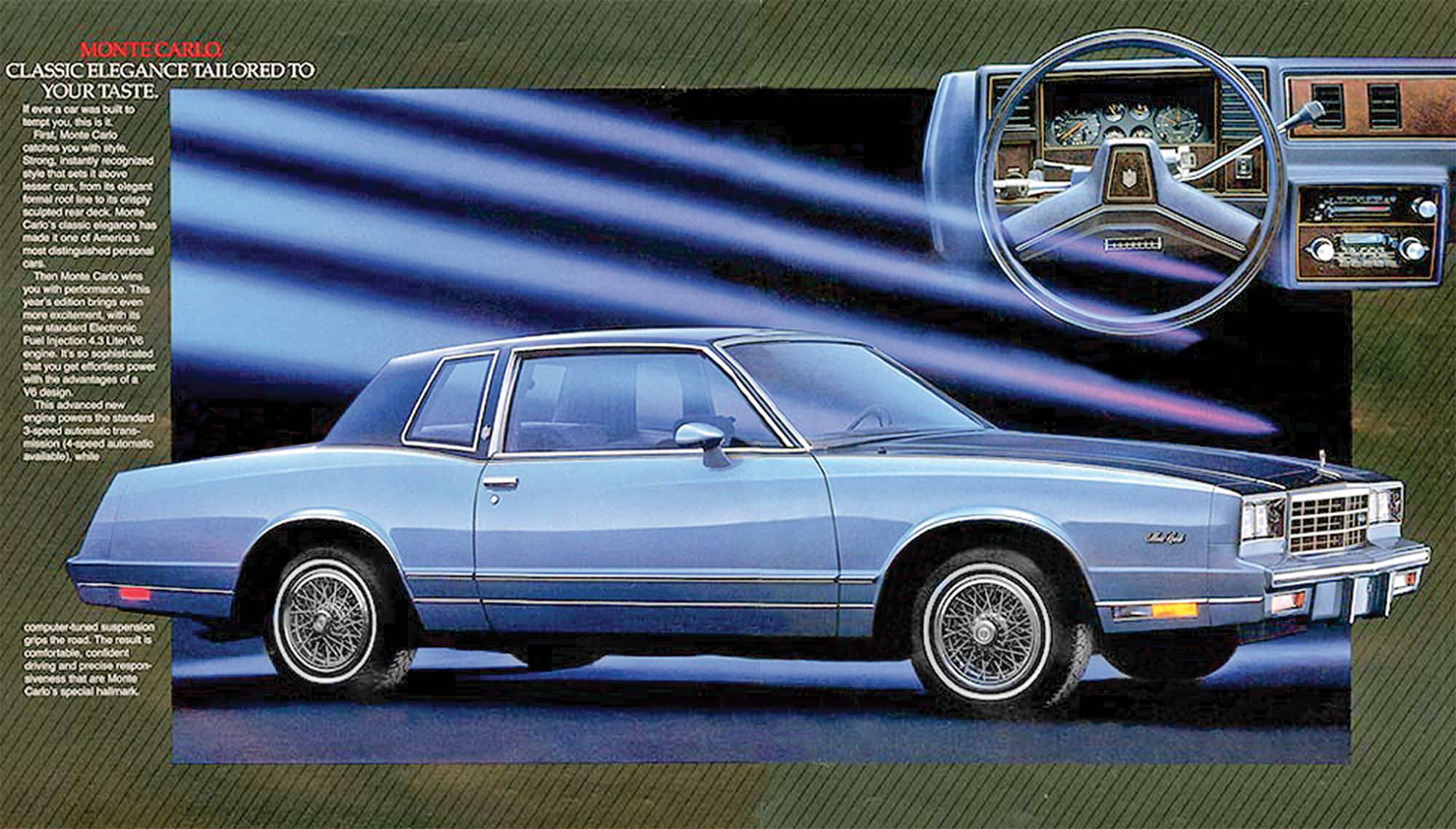 My Family Had This 1985 Monte Carlo It Was So Nice When We Went On Vacation Chevrolet Monte Carlo Chevrolet Monte Carlo