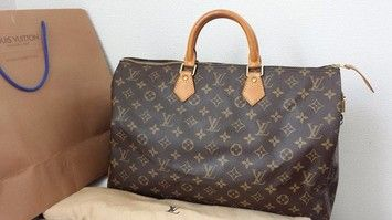 Louis Vuitton Speedy 40 Monogram Hobo Bag $760