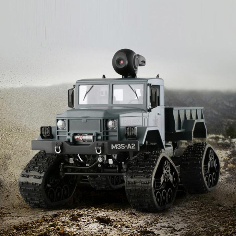 116 Fullscale RC Military Truck with WiFi HD Camera FPV