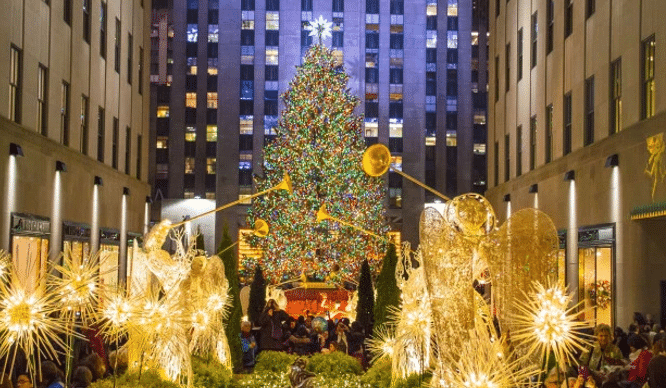 Christmas Tree In Nyc 2020 Tree Lighting Nyc in 2020 | Rockefeller center christmas tree