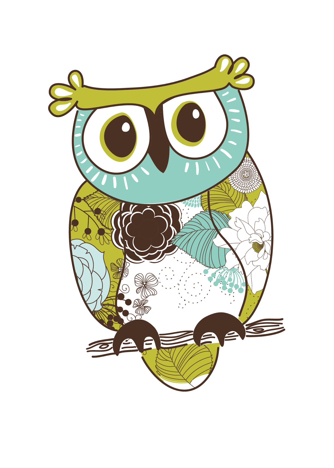 This is a picture of Impeccable Free Owl Printables