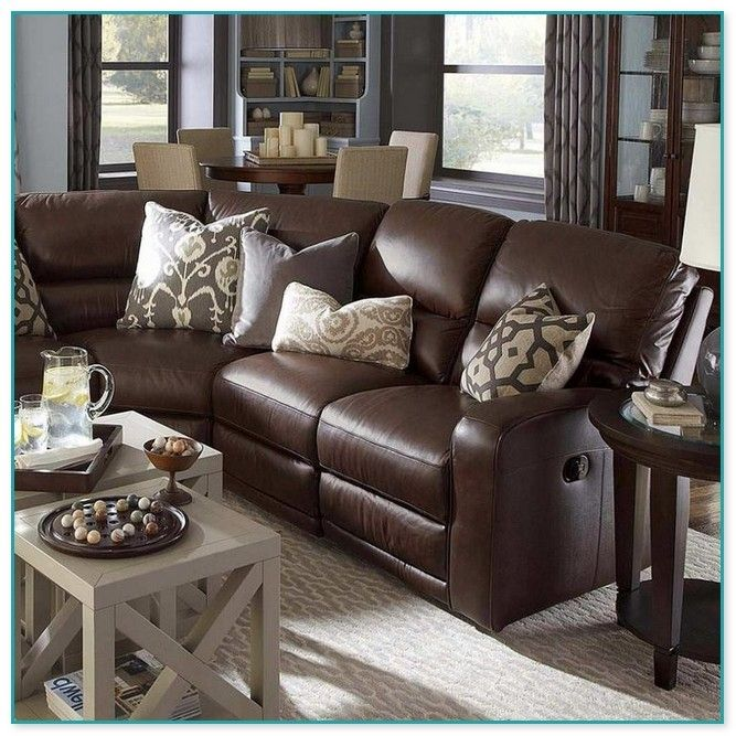 Leather Sofa Pillows Dark Brown Couch Living Room Brown Leather Couch Living Room Brown Living Room Decor