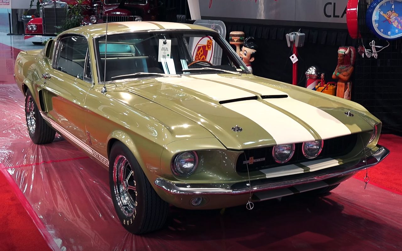 1967 Shelby Mustang Gt500 Fastback The Finest Pony Muscle Car
