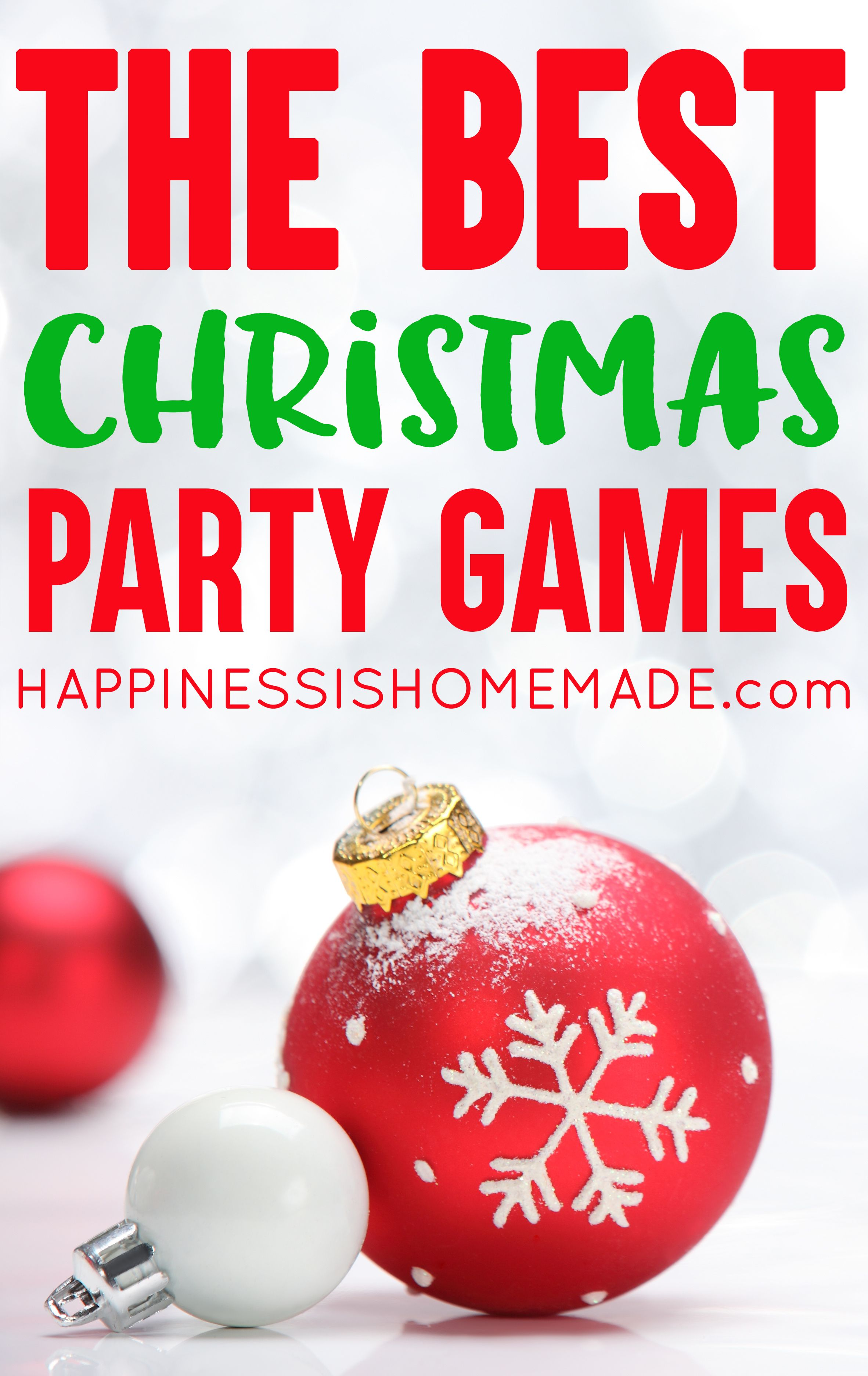 The Best Christmas Games for Kids and Adults Fun