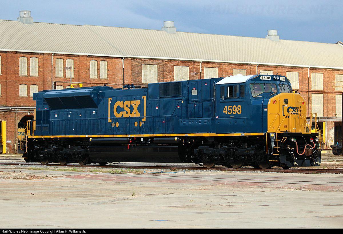 Railpictures Net Photo Csx 4598 Csx Transportation Csxt Emd Sd80mac At Waycross Georgia By Allan R Csx Transportation Railroad Photos Railroad Photography