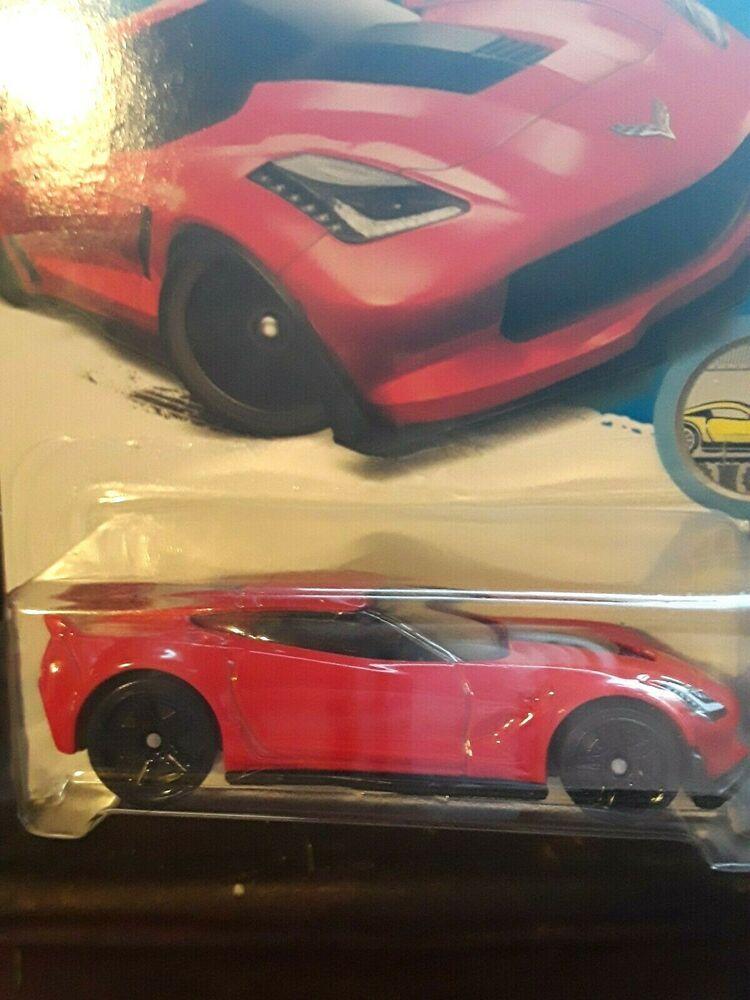 2017 Hot Wheels Factory Fresh 1 10 Red Corvette C7 Z06 Diecast 4