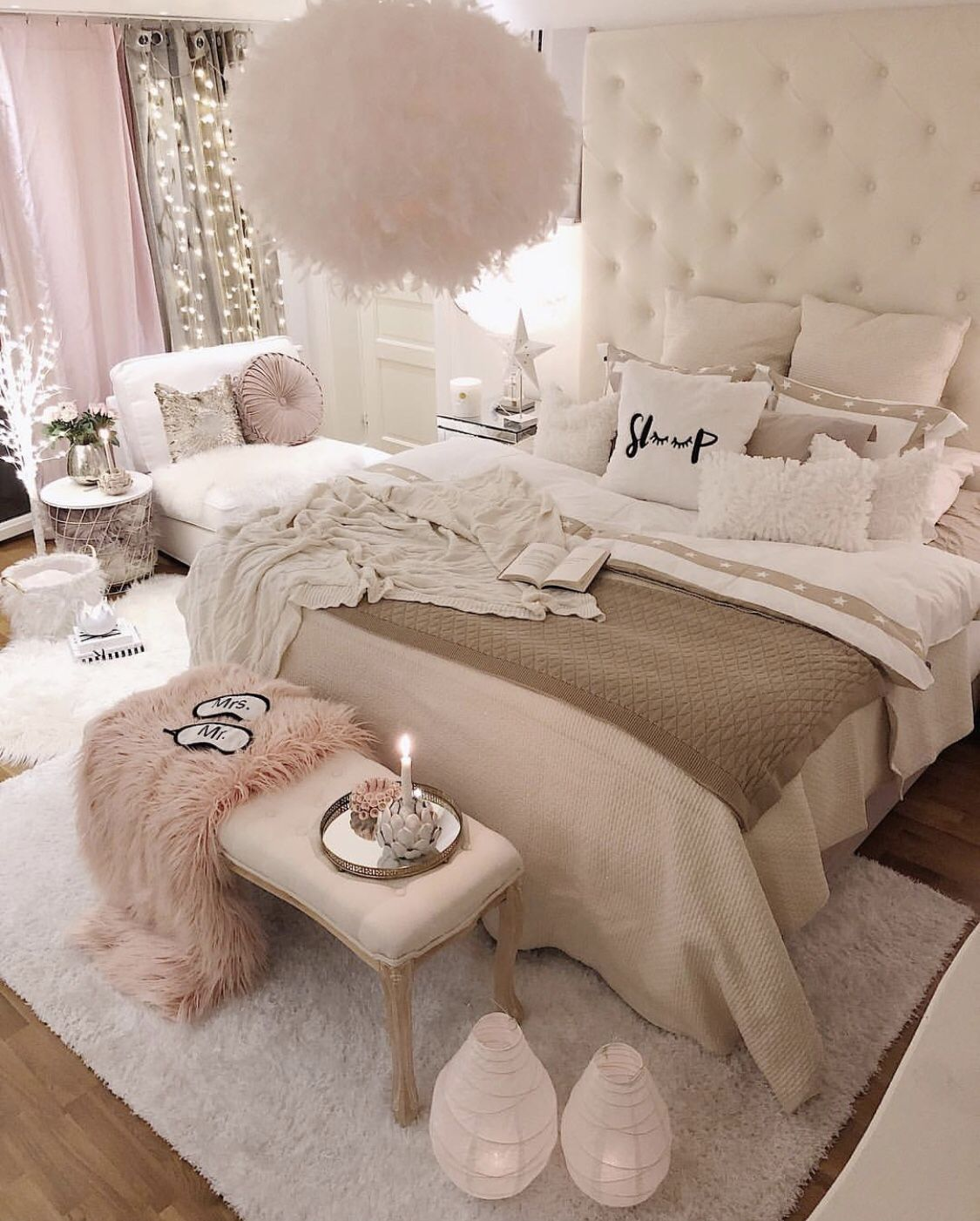 Tiny Master Bedroom Decorating Ideas Pic 012: Pin On Bedding