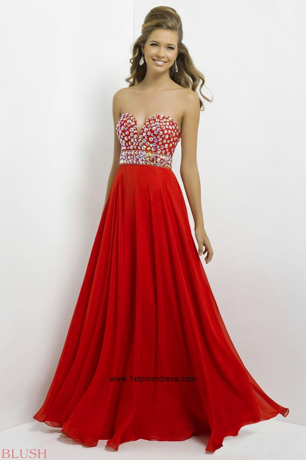 Images of Red Prom Dress Under 100 - Reikian